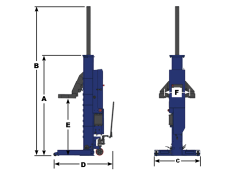 Challenger CLHM-185 technician drawing