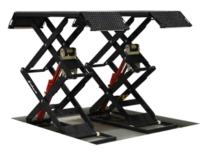 Challenger Lifts DX77R Recessed/Flush Mounted Double-Scissor Lift