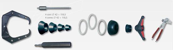 Corghi EM9250 Standard Accessories