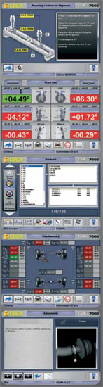 Corghi Exact 70 Software Features