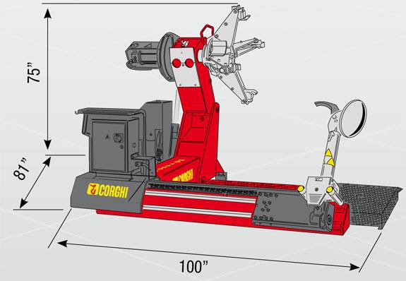 Corgi HD1400 specifications