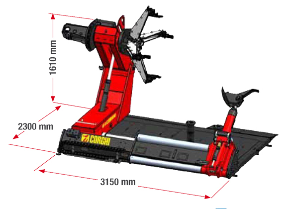 Corgi HD1800 specifications