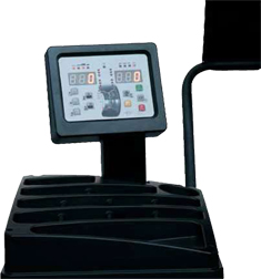 Corghi Service Pro150 Display Monitor and Weight Tray
