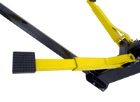Brigadier Series 2-Post Car Lift Heavy-Duty Steel Cable Sheaves