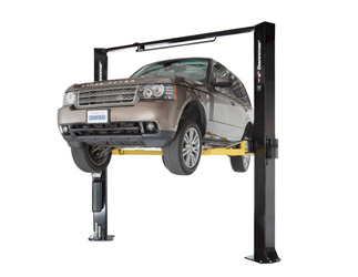 Dannmar Brigadier 10AC ALI-ETL Certified Clearfloor 2 Post Car Lift