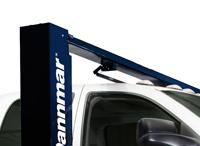 Brigadier Series 2-Post Car Lift Automatic Arm Restraints