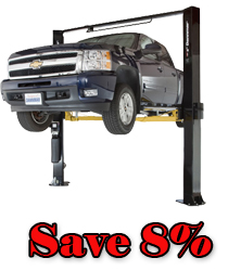 Dannmar Brigadier 10ACX ALI-ETL Certified Two Post Car Lift 10,000 lb.