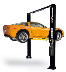 Dannmar D-10/ACX ALI-ETL Certified Two Post Car Lift 10,000 lb.