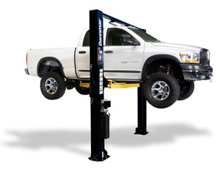 Dannmar Brigadier 10CX ALI-ETL Certified Clearfloor 2 Post Car Lift