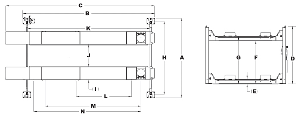 Major D-12A specifications diagram design