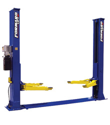 Forward Lift BP9 Two Post Car Lift  9,000 lb. Capacity