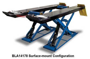 Hofmann BLA14178 & BLA14178FM Surface-Mount or Flush-Mount 14K Scissor Alignment Lift