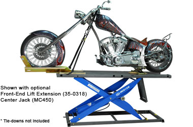 K&L MC615R Air Motorcycle Lift