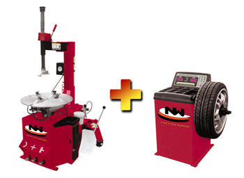 Nationwide NW-530 Tire Changer with NW-1030 Wheel Balancer Combo