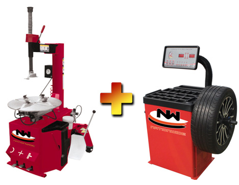 Nationwide NW-530 Tire Changer with NW-953-B Wheel Balancer Combo