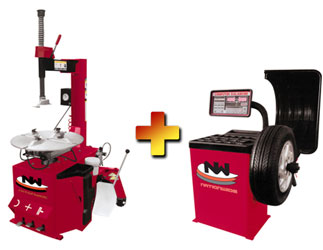 Nationwide NW-530 Tire Changer with NW-953 Wheel Balancer Combo