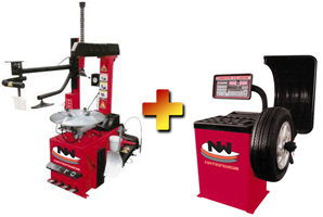 Nationwide NW-660 Tire Changer with NW-953 Wheel Balancer Combo
