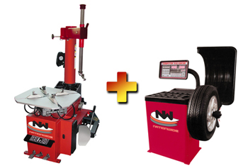 Nationwide NW-950 Tire Changer with NW-953 Wheel Balancer Combo
