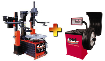 Nationwide NW-980MR Tire Changer with NW-953 Wheel Balancer Combo