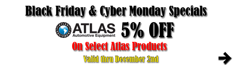 Atlas Black Friday and Cuyber Monday Special