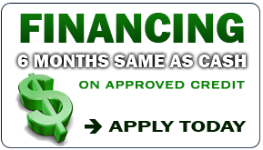 Financing: 6 Months Same As Cash