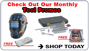 Monthly Tool Promos FREE with Purchase