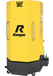 Ranger RS-500D Professional Spray Wash Cabinet w/Skimmer, Deluxe, Dual-Heaters, Low-Water Shutoff