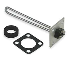 Nickel based alloy-sheathed heater element