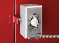 Convenient timer and safety door switch