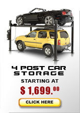 4 post car storage lifts, four post car storage lifts