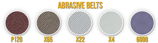 WSKTS-KO Abrasive Swatches