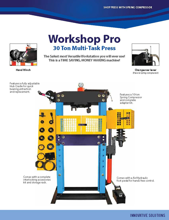 Workshop Pro Press Brochure page 1