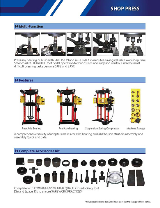 Workshop Pro Press Brochure page 2
