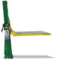 Auto Lift 2,000 lb. Single Column Turf Lift