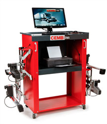 CEMB DWA1000XLT Wireless Heavy Truck Wheel Alignment System
