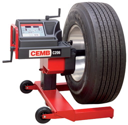 CEMB C206 Mobile Truck Wheel Balancer