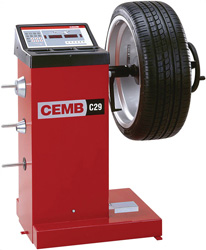 The CEMB C29 Digital Wheel Balancer | For Small to Medium Volume Garages
