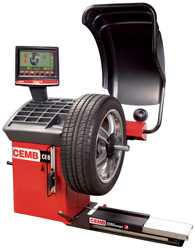 CEMB C88se Premium Video Wheel Balancer Pneumatic Locking (CEMB Patent)