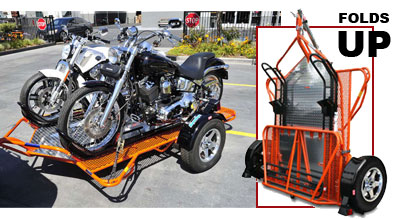 Kendon BB207RULE Dual Ride Up Motorcycle Trailer