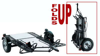 Kendon BB207RU Dual Ride-Up SRL Stand-Up™ Trailer