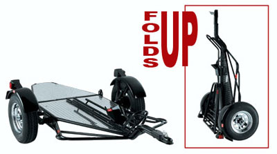 Kendon BB107RU Single Ride-Up SRL Stand-Up™ Motorcycle Trailer