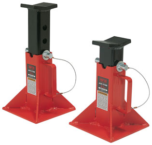 Jack Stands - Norco 5-Ton Capacity Pair (Import) | Model: Norco-81205I