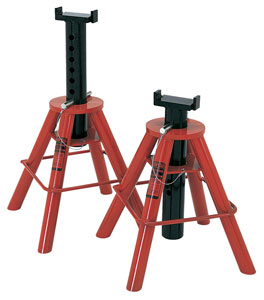 Jack Stands - Norco 10-Ton Low Height Pair (Import) | Model: Norco-81208I