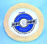Buff and Shine 7-1/2 in. Bolt-On 100% Wool Buffing Pad BUF7503N
