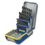Hanson 29 Piece Black and Gold Drill Bit Set w/Metal Index Case