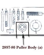 KD Tools Puller Body for KDT2897 KDT2897-80