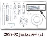 KD Tools Jack Screw for KDT2897 KDT2897-82