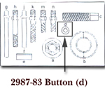KD Tools Button for KDT2897 KDT2897-83