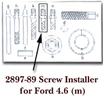 KD Tools Screw Installer for Ford 4.6 for KDT2897 KDT2897-89
