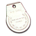 KD Tools .020 to .100in. Coin Type Spark Plug Gauge KDT3293